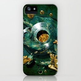 Moulds for gold iPhone Case