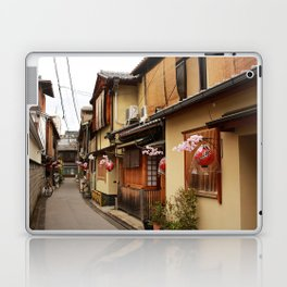 Old Houses in Kyoto Laptop & iPad Skin