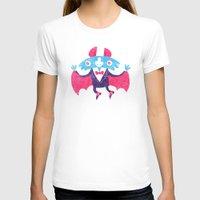 bat T-shirts featuring Bat by David Fernández Huerta