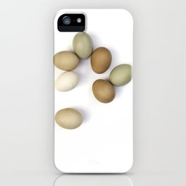 Eggs iPhone Case