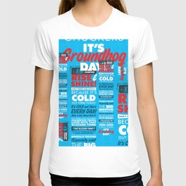 It's Groundhog Day T-shirt
