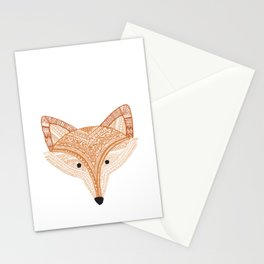 Golden Fox  Stationery Cards