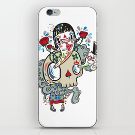 Polypop The Skull iPhone Skin