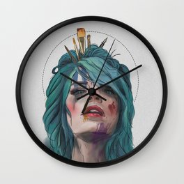 Support Living Artists the Dead Ones Don't Need it Wall Clock
