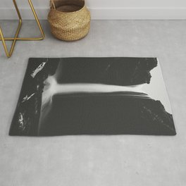 Hidden waterfall - Landscape and Nature Photography Rug