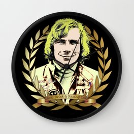 James Hunt Wall Clock