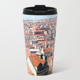 Lisbon, Portugal Analog 6x6 Kodak Ektar 100 (RR 162) Travel Mug