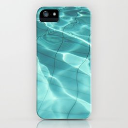 Water / Swimming Pool (Water Abstract) iPhone Case