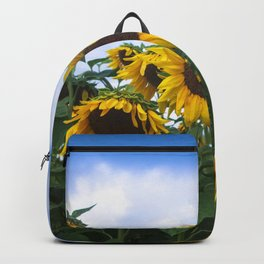 Nodding Sunflowers Backpack