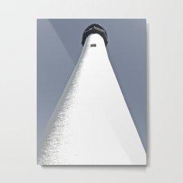 Lighthouse Pic Nic Metal Print