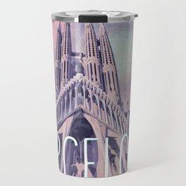 Barcelona Sagrada Familia Travel Mug