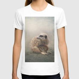 Study of a young Meerkat T-shirt