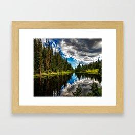 Lake Irene in Colorado Framed Art Print