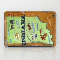 indiana iPad Cases featuring INDIANA by Christiane Engel