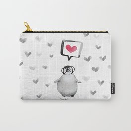 Tiny penguin love Carry-All Pouch