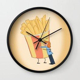 Hot Chips! Wall Clock