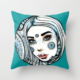 Sea Beauty Throw Pillow
