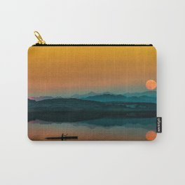 Serene Sunrise by the Lake Carry-All Pouch