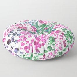 pointalism mood Floor Pillow