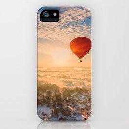 Floating Sunrise iPhone Case