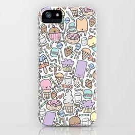 Kawaii Sweet Treats iPhone Case