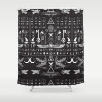 aliens Shower Curtains featuring Aliens Bro by Needlz Threadz