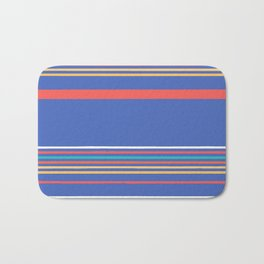 Blue Stripe Bath Mat