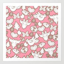 Clarice Pattern Art Print