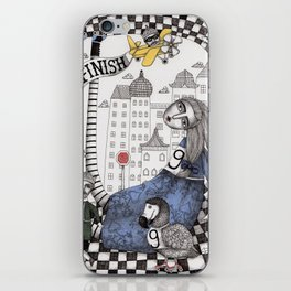 William the Conqueror and the 9 Feet Tall Caucus Race iPhone Skin