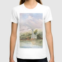 East Channel Lighthouse T-shirt