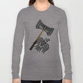 Thor Viking War Hammer Long Sleeve T-shirt
