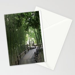 Bamboo bridge Stationery Cards
