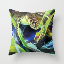 Honu 'Aumākua Throw Pillow