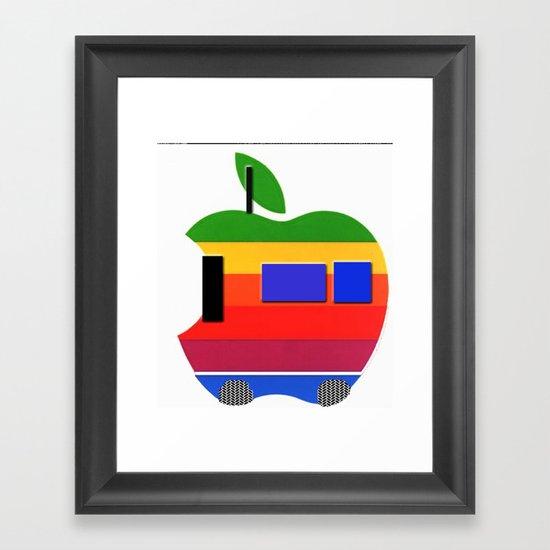 i-car Framed Art Print