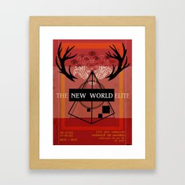 Illuminati Invite Framed Art Print