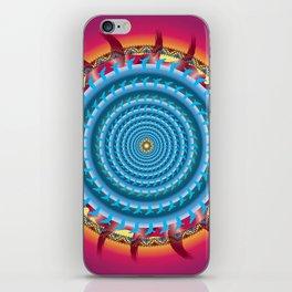 Freedom Mandala - מנדלה חופש iPhone Skin
