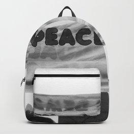 unity, love, peace Backpack
