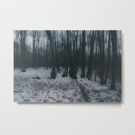 Forest ghost Metal Print