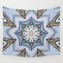 Blue star Wall Tapestry