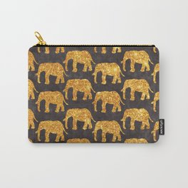The Golden Elephants Herd Carry-All Pouch