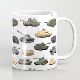 Multiple Battle Tanks Coffee Mug