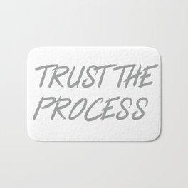 Trust The Process Workout Motivational Design Bath Mat