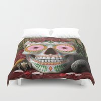 flora Duvet Covers featuring Flora by SugarSugar