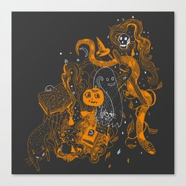 Witches Brew (midnight) Canvas Print
