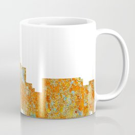 Durham,NC Skyline - Rust Coffee Mug