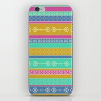 southwest iPhone & iPod Skins featuring Southwest Dawn by Rebecca L. Davis