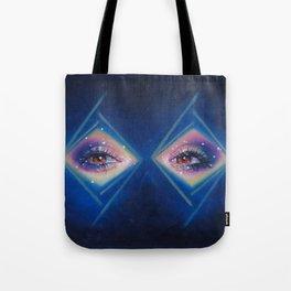Diamonds in her eyes Tote Bag