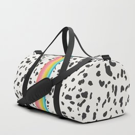 Nostalgia in Animal Print Duffle Bag