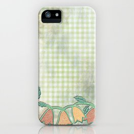 M spring kitchen - Jingle flower buds iPhone Case