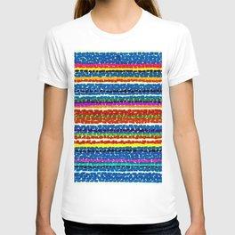 African American Masterpiece 'Light Blue Nursery No. 2'' by Alma Thomas Art Print T-shirt